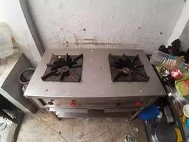 2 burner bhatti for restaurant