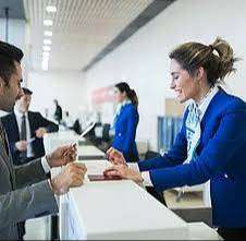 Urgent hiring for male and female employees for ground staff.ticket co