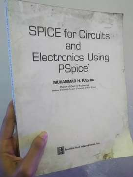 Buku spice for circuits and electronics using PSpice