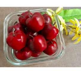 Special Natal Miniatur Buah Cherry Merah