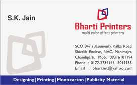 Marketing Executive For Offset Printing