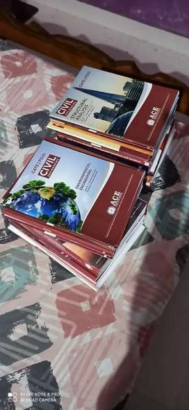 ace acadamy gate civil study material full set 2018 year( not used)