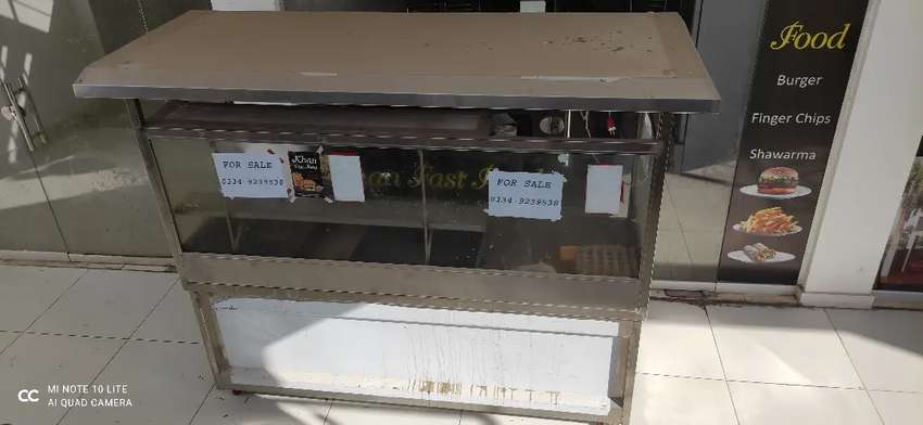 FAST FOOD COUNTER FOR SALE IN FAISAL TOWN ISLAMABAD