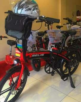 Sepeda lipat listrik selis