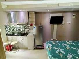 (SHM) Dijual Studio BUTUH Full Furnish Bassura City Apartment