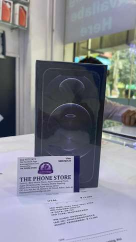 New phone with bill. Dont msg only cal. Apple 12 pro n pro max