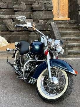 Harley Davidson Softail Carbulator rare colour Blue
