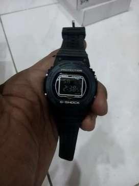 Jam tangan g shock digital hitam rubber