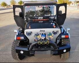 Hunter jeep modified
