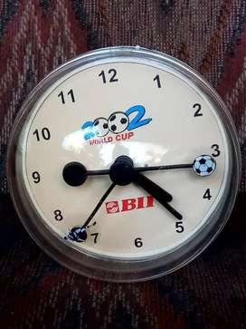 Soccer clock Bank BII 2002
