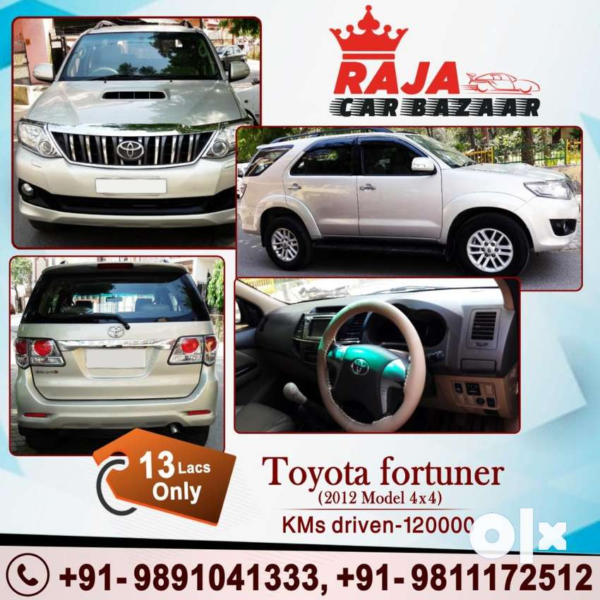 Toyota Fortuner 2.8 4X4 MT, 2012, Diesel 0