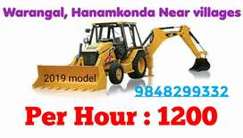 JCB WORK /PER HOUR : 1200