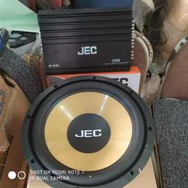 Power 4 canel Jec + subwofer 12 jec ( Megah top)