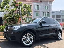 BMW X3 X-Drive Diesel 2016 Black On Saddle Tan Km20rb Ori BSI-2021 PBD