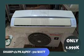 AC Sharp 1/2 PK Berkualitas Siap Pasang Promo Akhir Tahun