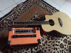 Gitar APX 500 II + Gitar Amplifier