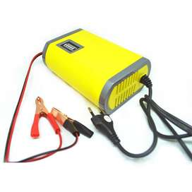 Portable Charger Accu Sepeda motor dan Mobil 6A/12V