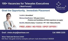 Urgent opening for telesales