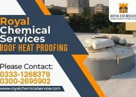 Roof Waterproofing Chemical and Roof Cool Insulation Coating Services