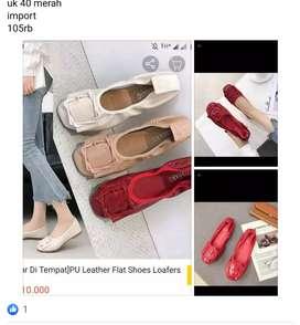 Sepatu import baru