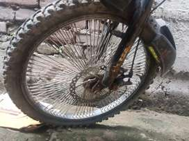 Bmx 150spokes in 1 tire with disk brake