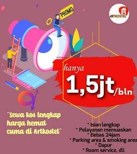 Menyewakan kost murah Babarsari Yogyakarta