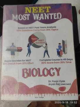 Neet most wanted biology by dr pooja Vyas and Aryan raj(AIIMS delhi)