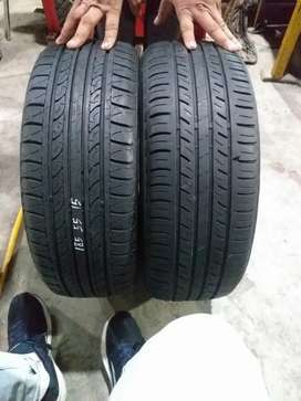 Tyre size 185 55 R15 (price of 2 pieces)