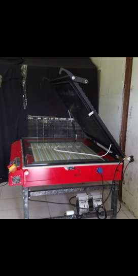 Jual mesin afdruk vacum UV sablon
