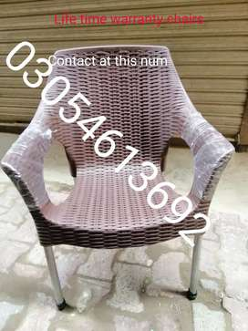 Steel legs chairs life time warranty of broke contact at num on oic