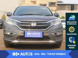 [OLX Autos] Honda CRV 2.4 Prestige A/T 2016 Abu - Abu