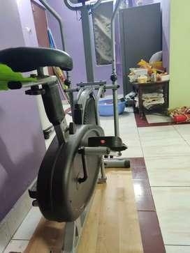 Exercise bike/orbitrek bike