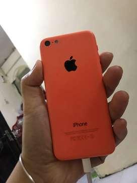 Iphone 5c pink normal masih bagus
