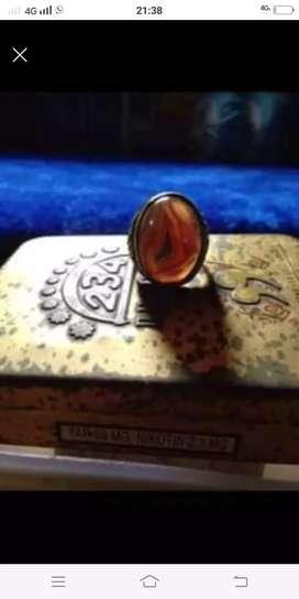 Dijual cincin batu akik