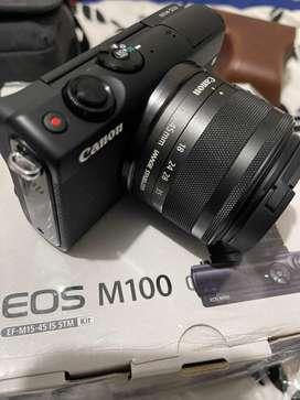 Dijual canon m100 like new