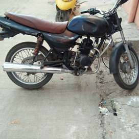 Here is Bajaj  CT 100 2005  well maintained Bike for urgent sale.