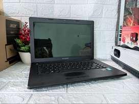Laptop Lenovo G400 Core i5 Ivy RAM 6GB/500GB Dual VGA Bergaransi