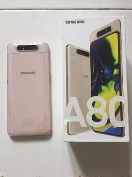Samsung A80 warna pink 128 gb