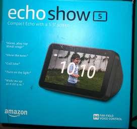Amazon Echo Show 5 for sale.