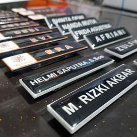 Name Tag / papan nama dada