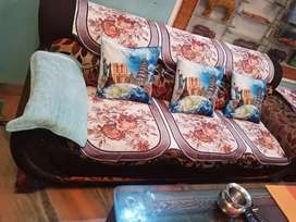 5 SEATER SOFA SET FOR SALE (3+1+1) without table