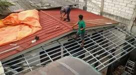 Renopasi bongkar pasang atap
