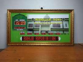 Produsen Jam Masjid Terlaris Kualitas Ok Kirim Kab Kapuas