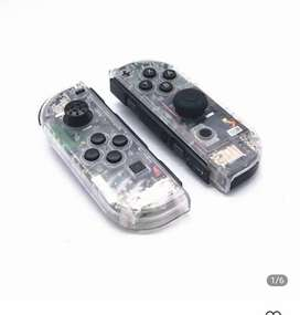 nintendo switch shell case transparent and right flex cable