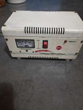 Bpl company automatic electric stabilizer.