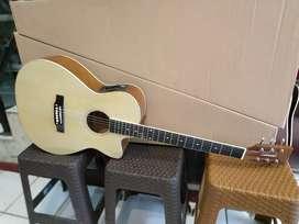 Gitara aksustik elektrik lakewood