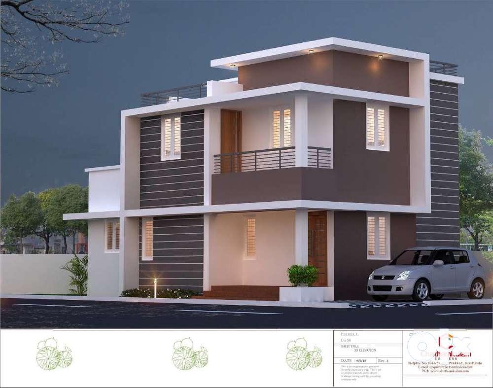independent customized villas in palakkad