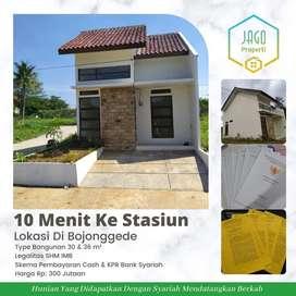 Rumah Cluster Termurah KPR Cicilan Mulai 3.2 Juta Lokasi Di Bojonggede