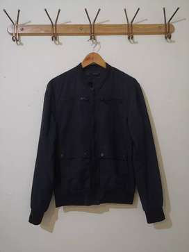 Jaket Original Zara Navy