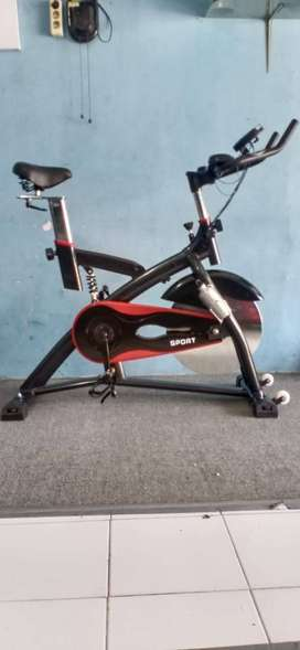 Spinning bike jls sepeda kesehatan kekinian